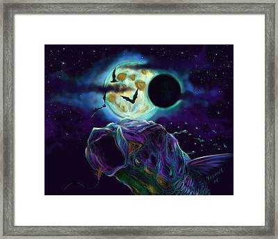 Eclipse Rush  Framed Print