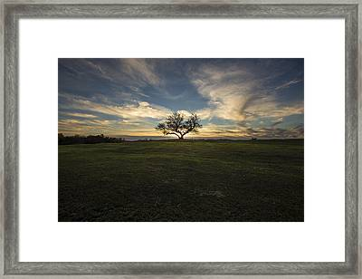 Eclipsed Framed Print by Aaron J Groen