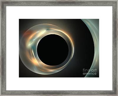 Ecliptic Framed Print by Kim Sy Ok