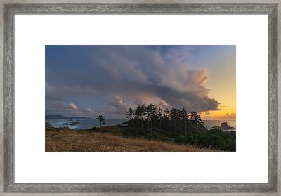 Ecola And The Oregon North Coast Framed Print by Ryan Manuel