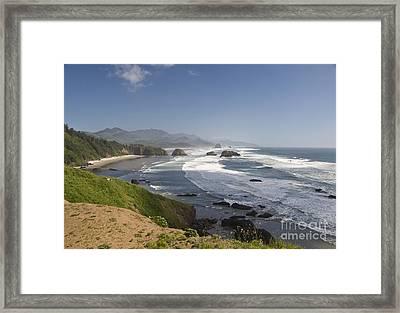 Ecola State Park Oregon Framed Print