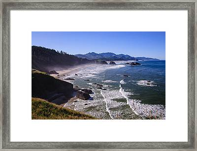 Ecola Point Framed Print