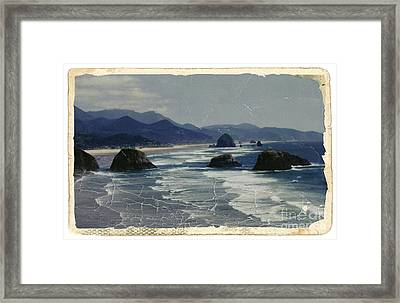 Ecola Sea Stacks Framed Print by Chalet Roome-Rigdon