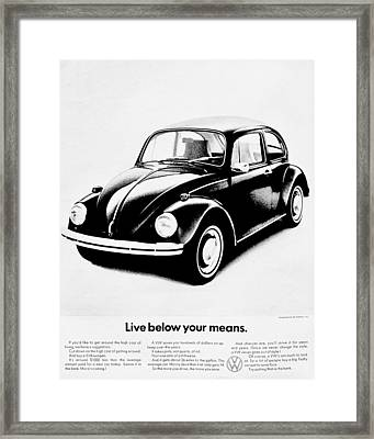 Economically Viable Framed Print by Benjamin Yeager