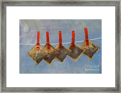 Economics Framed Print by Louise Heusinkveld