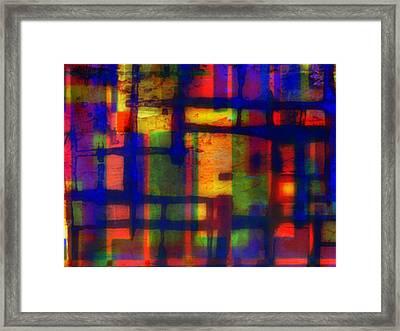 Economy Framed Print by Wendie Busig-Kohn