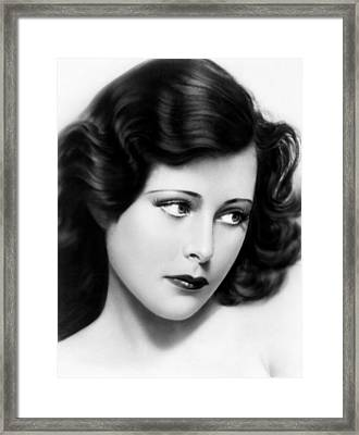 Ecstasy, Aka Extase, Hedy Lamarr, 1933 Framed Print