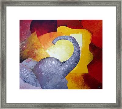 Ecstasy Framed Print by Draia Coralia