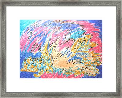 Framed Print featuring the painting Ecstasy by Esther Newman-Cohen