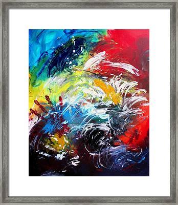Ecstasy Framed Print by Shakhenabat Kasana