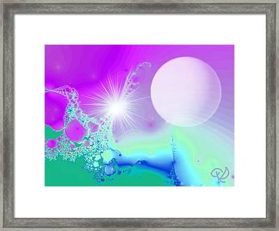 Ecstasy Framed Print by Ute Posegga-Rudel