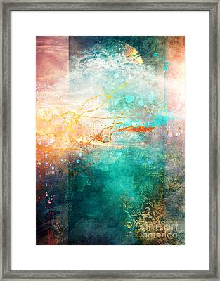 Ecstatic Framed Print