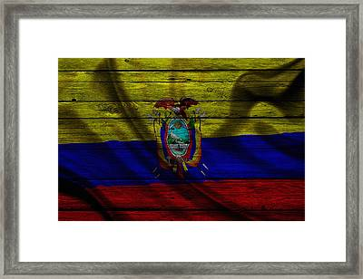 Ecuador Framed Print by Joe Hamilton