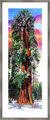 Ed By Ned Framed Print