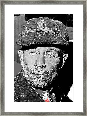 Ed Gein The Ghoul Who Inspired Psycho Plainfield Wisconsin C.1957-2013 Framed Print