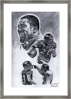 Ed Reed Framed Print by Jonathan Tooley