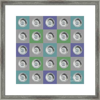 Edamame 5x5 Collage 2 Framed Print by Maria Bobrova
