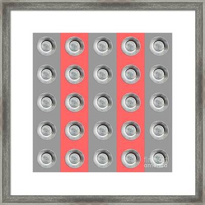 Edamame 5x5 Collage 4 Framed Print by Maria Bobrova