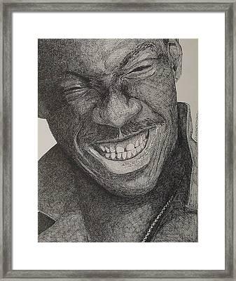 Eddie Framed Print by Denis Gloudeman