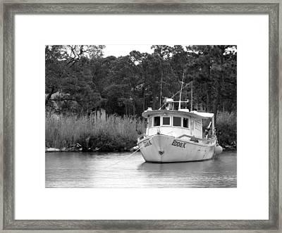 Eddie K Framed Print