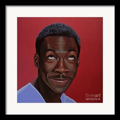 Eddie Framed Prints