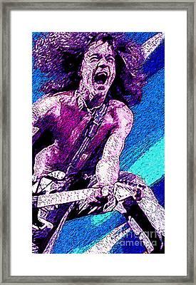 Eddie Van Halen - Hot For Teacher Framed Print