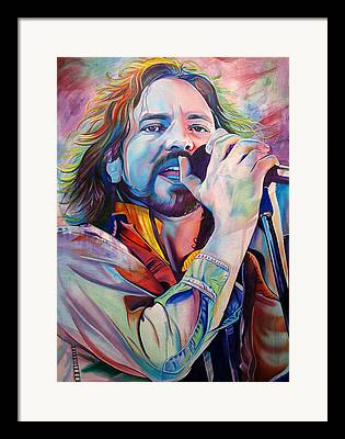 Pearl Jam Framed Prints