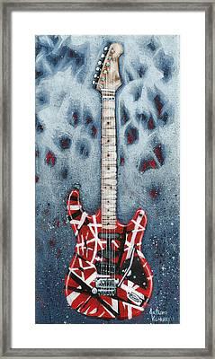 Eddie's Frankenstrat Framed Print by Arturo Vilmenay