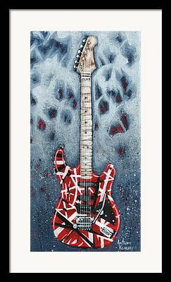 Van Halen Framed Prints