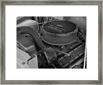 Edelbrock Framed Print by Thomas Young