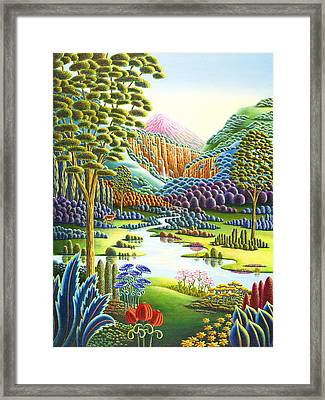 Eden Framed Print by Andy Russell