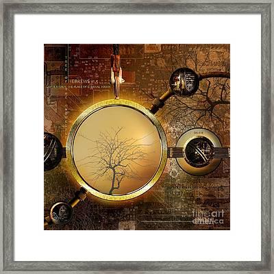 Eden Is Lost Framed Print