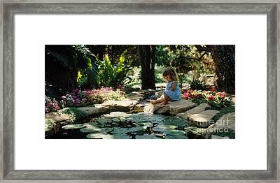Eden Joy Srf Garden Framed Print