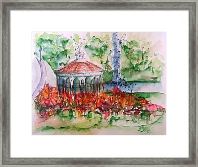 Eden Park Framed Print