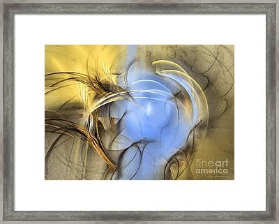 Eden - Surrealism Framed Print