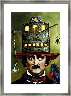 Edgar Allan Poe Edit 1 Framed Print by Leah Saulnier The Painting Maniac