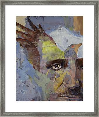 Poe Framed Print by Michael Creese