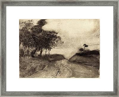 Edgar Degas French, 1834 - 1917, The Road La Route Framed Print by Quint Lox