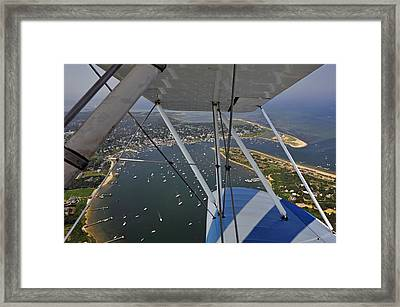 Framed Print featuring the photograph Edgartown Harbor by Dan Myers