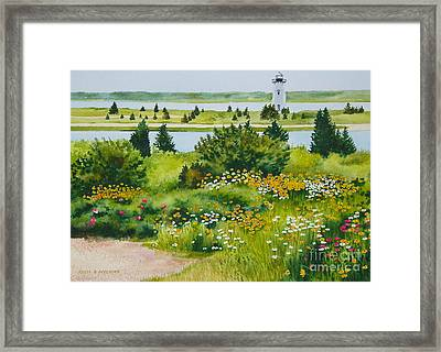 Edgartown Light Framed Print
