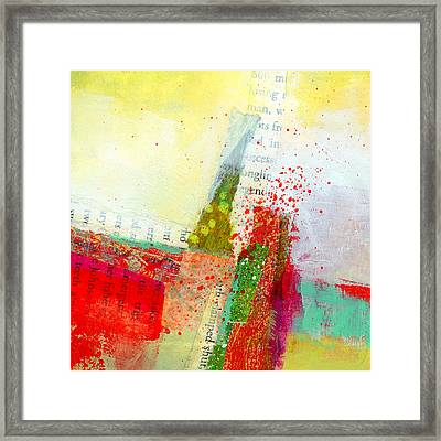Edge  57 Framed Print by Jane Davies