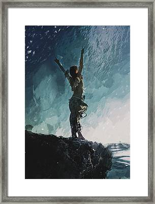Edge  Framed Print