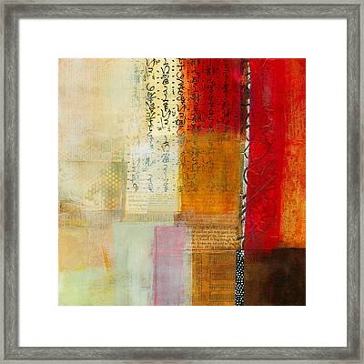 Edge Location 8 Framed Print by Jane Davies