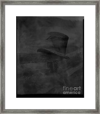 Edge Of A Vanishing Dream Framed Print by C E Dyer