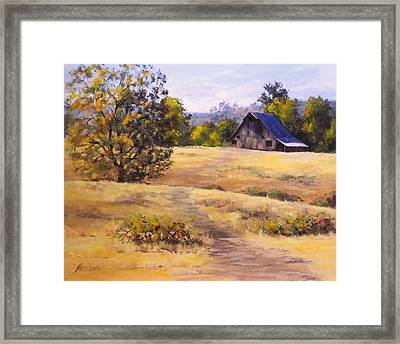 Edge Of Autumn Framed Print