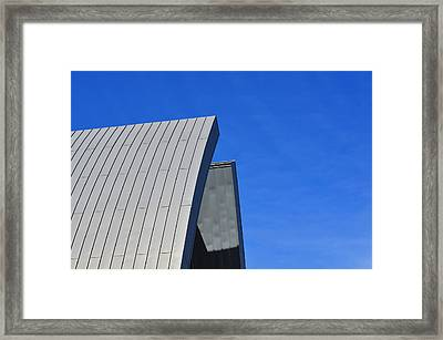 Edge Of Heaven - Architectural Photography By Sharon Cummings Framed Print