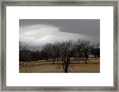 Edge Of Night Framed Print by Ross Odom