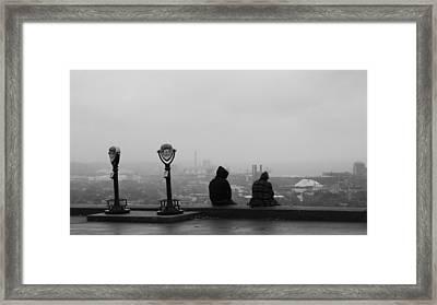 Edge Of The City Framed Print by Stephen Melcher