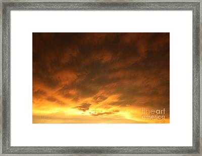 Edge Of The Eye 02 Framed Print