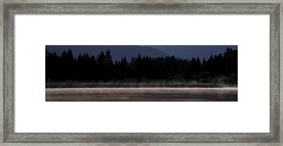 Edge Of The Lake Framed Print